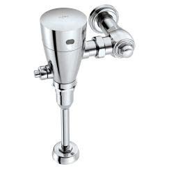 4-Inch Urinal Battery Powered Exposed Sensor-Operated Electronic Flush Valve .5 gpf, Chrome ()