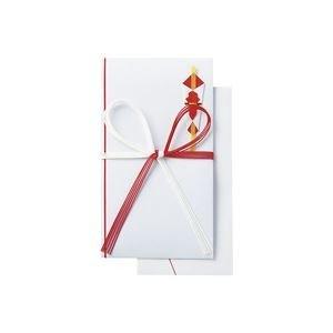 生活日用品 (業務用50セット) 祝金封 赤白5本 10枚入 N038J ×50セット B074MM9GP7