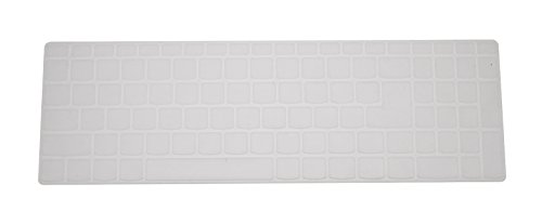 PcProfessional Clear Ultra Thin Silicone Gel Keyboard Cover for Lenovo IdeaPad 510 15.6