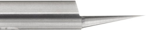 variant image of LMT Onsrud 37-21 Solid Carbide Engraving Tool, Uncoated (Bright) Finish, 1 Flute, 0.005