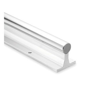 Thomson SRA20L48 Rail Assembly, Aluminum and Steel, 1.25'' Diameter, 48'' by Thomson