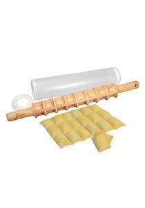 Weston 53-0501-W Ravioli Rolling Pin