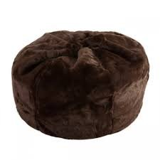Large XL Size Brown Color Comfort Suede Kids Bean Bag Chair Cover Only by Ink Craft (Brown Bean Bag Chair)