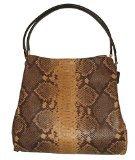 Coach Phoebe Snake Natural Exotic Leather Shoulder Bag 35209