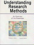 Read Online Understanding Research Methods: An Overview of the Essentials Seventh Edition ebook