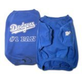 Sporty K9 MLB Los Angeles Dodgers Pet T-Shirt, X-Large For Sale