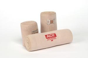 3M Health Care 207432 ACE Brand Elastic Bandage, Reusable, 3'' Width, Tan (Pack of 50) by 3M Health Care