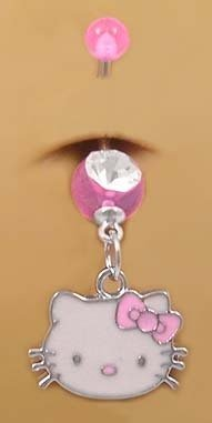 sister belly rings - 6
