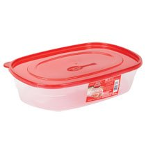 Betty Crocker Easy Seal Rectangular Storage Containers, 96 oz.