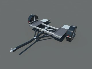 Car Tow Dolly Plans DIY Vehicle Carrier Auto Towing System