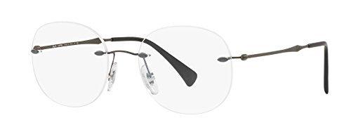 08ad9882cc Ray-Ban Unisex Adults  0RX 8747 1128 48 Optical Frames