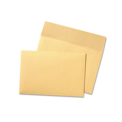 Filing Envelopes, 10 x 14 3/4, 3 Point Tag, Cameo Buff, 100/Box by Quality Park