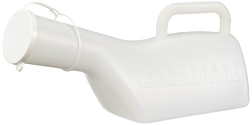 NRS Healthcare M76149 Long Necked Male Urinal by NRS