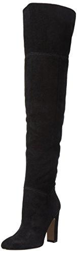 ALDO 47066656, Botas Altas de Tacón Mujer Negro (Black Suede/91)