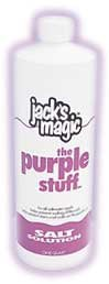 Jack's Magic The Purple Stuff Pool Stain and Scale Preventer - 1 Quart