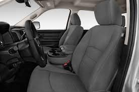 Durafit Seat Covers Exact Custom Fit in Gray Twill Fabric. DG29 Gray 2013-2019 Dodge Ram Front and Back Seat Covers Set