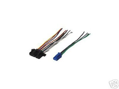 Corvette Wiring - Stereo Wire Harness OEM Chevy Corvette 90 91 92 93 94 (car radio wiring insta.