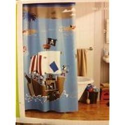 Circo Pirate Shower Curtain