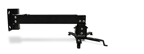 Universal Home Theater Projector Ceiling Mount with Adjustable Tilt and Swivel Arm (P-MOUNT-BL) by FAVI (Image #4)