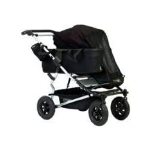 Mountain Buggy Single Sun Cover for Duet Double Stroller, Black by Mountain Buggy