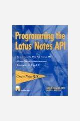 Programming the Lotus? Notes API Paperback