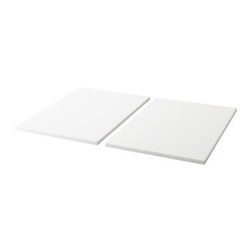 Ikea TROFAST - Shelf, white / 2 pack