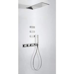 Drei Griferia Kit Dusche Thermostat Block System Mit