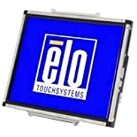 Elo E731919 Open-Frame 1537L Secured Touch 15 LCD Monitor Black/Silver