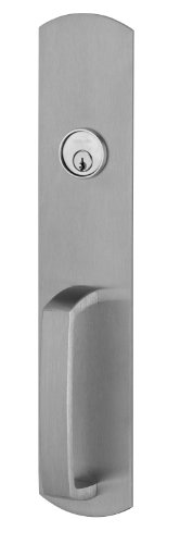 Von Duprin 990NL Nightlatch Trim with RIM Cylinder for 98/99 Series Rim Exit Device, Satin Chrome Finish (Von Duprin Panic Hardware)