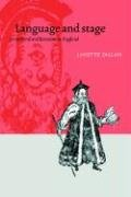 Language and Stage in Medieval and Renaissance England by Cambridge University Press