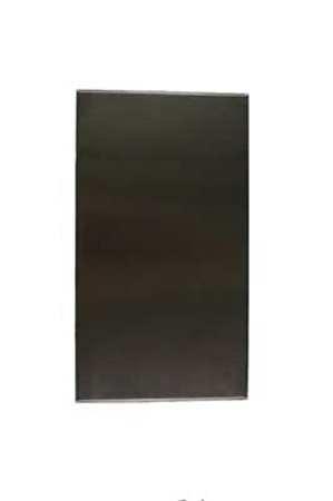 42'' x 24'' Urinal Screen Toilet Partition, Cellular Honeycomb, Satin