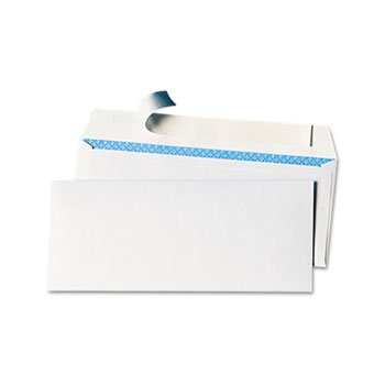 Pull & Seal Business Envelope Security Tint #10 White 100/Box