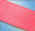 The Furniture Cove Twin Size Attached Bed Slats - Bunkie Boards (Hot Pink Straps)