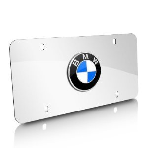 BMW Marque Plate -Polished Stainless Steel