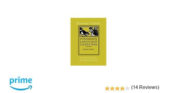 Amazon.com: Intermediate Language Lessons, Teacher's Guide ...