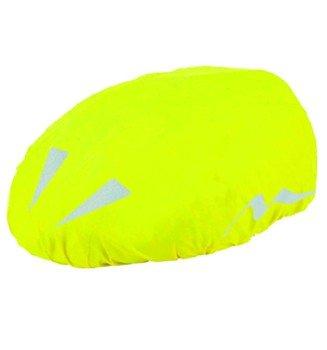 Shimano Housse pour casque à vélo avec logos réfléchissants Jaune fluo Taille unique RAD