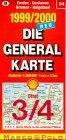 Die Generalkarten Deutschland Bl.3 4 Emden Bremen Cuxhaven Bremerhaven