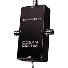 Ocean Matrix Composite Video BNC Input Expander Switch-by-Ocean Matrix