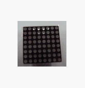 Kavas - 10PCS/LOT LED digital dot matrix module, F1.9 8x8 red, common cathode, mist lattice digital pipe