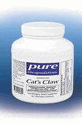 Pure Encapsulations Cat's Claw 500 mg – 180 capsules, My Pet Supplies
