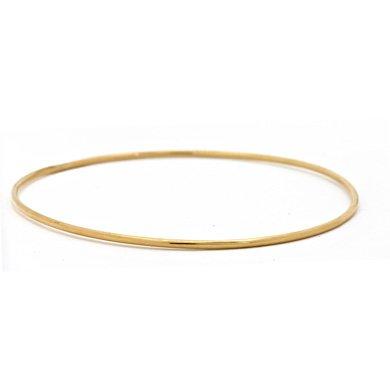 "Or jaune 14 carats 1,5 mm 25-jonc-JewelryWeb 7 """