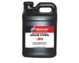 Mercury Marine High Performance Gear Lube+ SAE 90 2.5 Gallons 92-858065K01