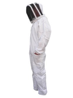Pest Control Direct Beekeepers Suit with Fencing Spaceman Hood (Medium)