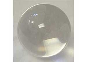Crystal Ball Ouiji Séance Toy Search For Wisdom Divination Tool 110mm Clear 4''