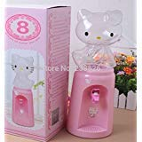 1Piece 2.5 Liters Hello Kitty Style Mini Water Dispenser 8 Glasses Water Dispenser by NEWSTYLE HOME