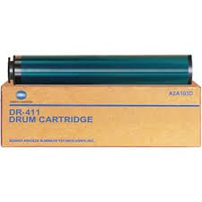 - Konica Minolta Genuine Brand Name, OEM A2A103D (DR411) DR-411 Drum Unit (80-120K YLD) for Bizhub 223, Bizhub 283, Bizhub 363, Bizhub 423 Printers