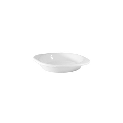 Chafing Dish China - Diversified Ceramics DC613-W White 10 Oz. Oval Au Gratin Dish - 24 / CS