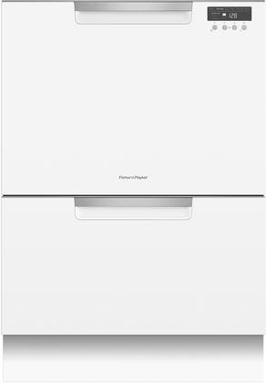 """Fisher Paykel DD24DCTW9 24"""" Tall Double Drawer"""