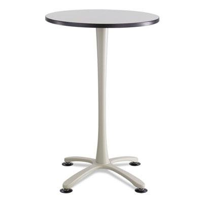 Safco - Cha-Cha Table Top Laminate Round 30'' Diameter Gray ''Product Category: Office Furniture/Meeting/Training Room Tables'' by Original Equipment Manufacture