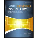Basic Reading Inventory: Student Word Lists, Passages, and Early Literacy Assessments, Jerry L. Johns, 0757598544